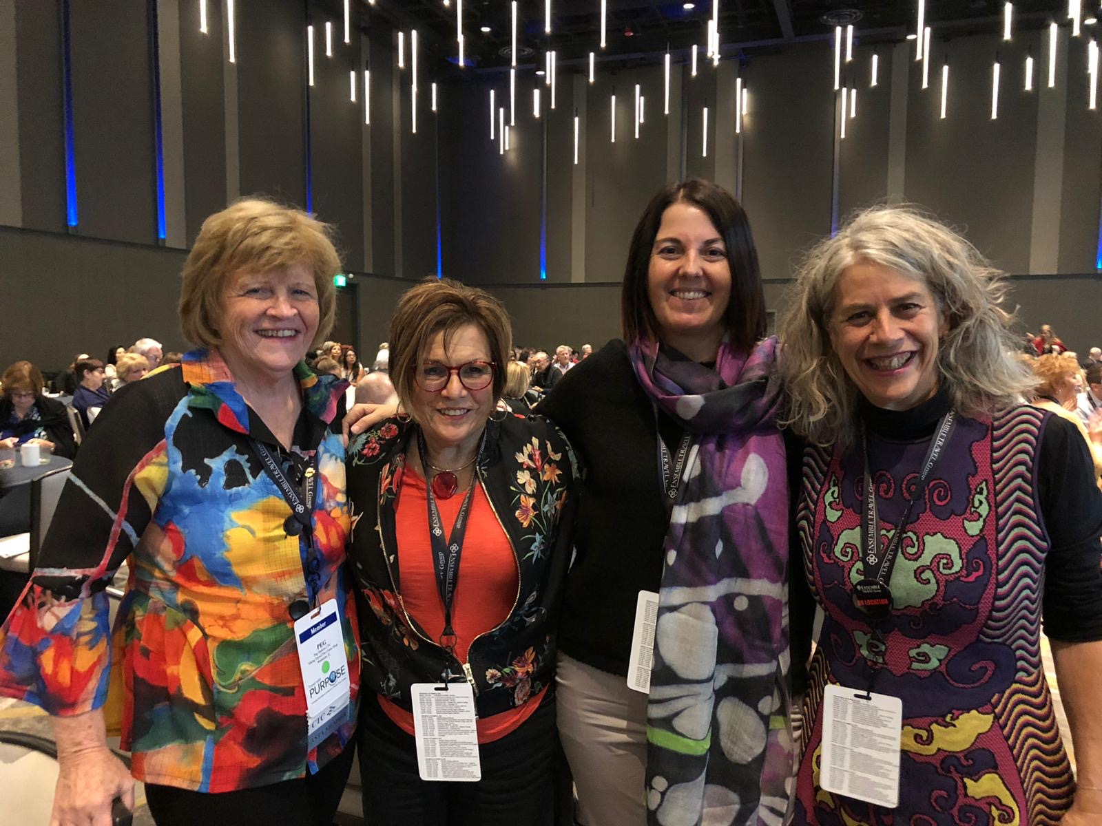 Ensemble members select their top travel partners at 2019 annual conference in Seattle